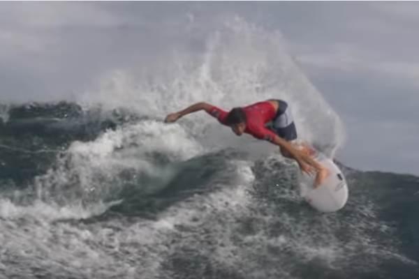 Krui, ibukota Kabupaten Pesisir Barat, Lampung. Selain dikenal sebagai surga surfing di Lampung, Krui merupakan salah satu lokasi penghasil ikan penting di Lampung. - youtube/Asian Surfing Championships