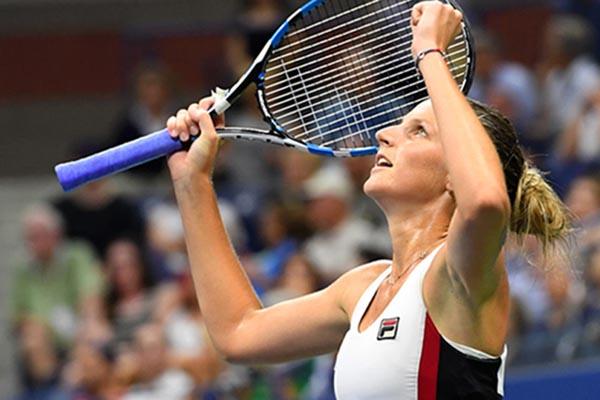 Juara bertahan single putri tenis Italia Terbuka Karolina Pliskova. - Reuters