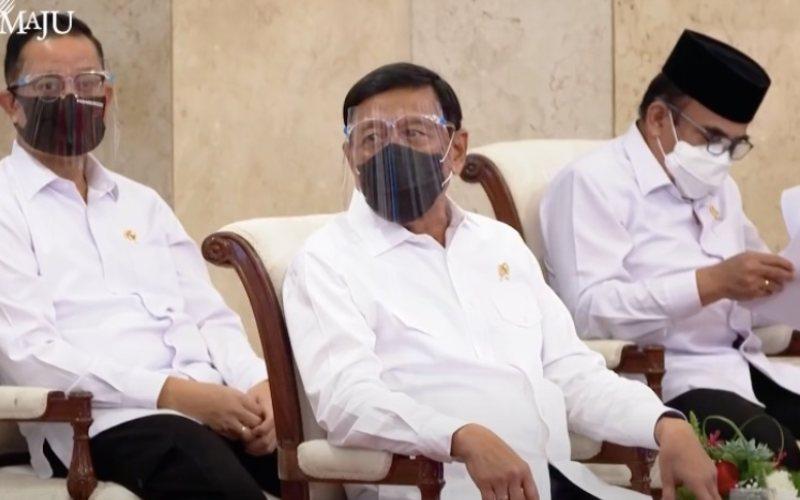 Menteri Agama Fachrul Razi saat mengikuti Sidang Kabinet Penanganan Kesehatan dan Pemulihan Ekonomi untuk Penguatan Reformasi Tahun 2021 pada 7 September 2020. / Akun Youtube Sekretariat Presiden