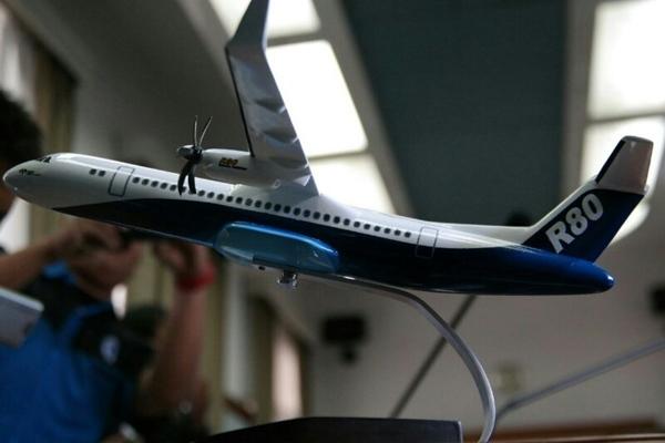 Pesawat R80 buatan Indonesia. - militerindonesiamy.blogspot.com