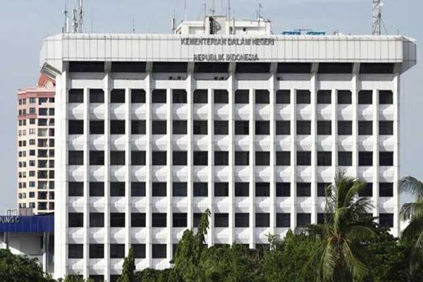 Ilustrasi - Gedung Kementerian Dalam Negeri - kemendagri.go.id