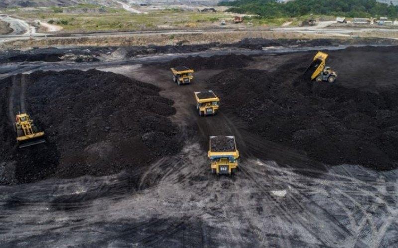 Ilustrasi - Kegiatan pertambangan batu bara di wilayah operasional PT Adaro Energy Tbk. - adaro.com