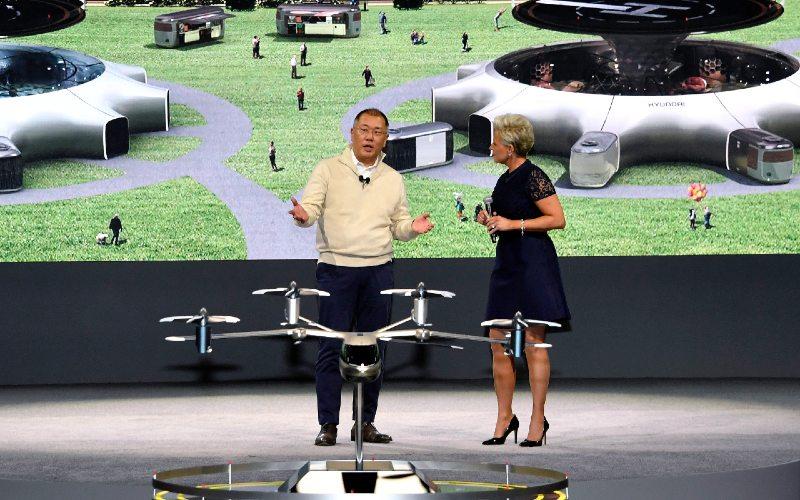 Hyundai telah meluncurkan visi inovatifnya untuk mobilitas perkotaan dan konsep pertama kendaraan Urban Air Mobility yang dilengkapi dengan eVTOL di CES 2020.  - Hyundai
