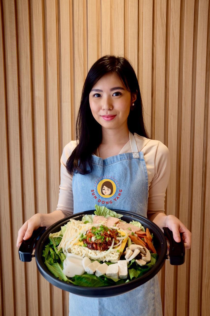 Makanan Sun Dong ala drama Korea, bisa dinikmati saat di rumah. - istimewa