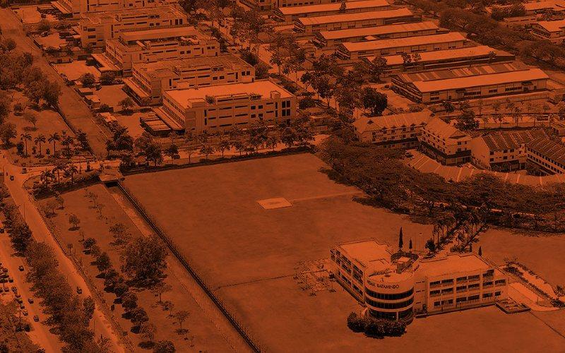 Ilustrasi kawasan industri di Batam. - Ist
