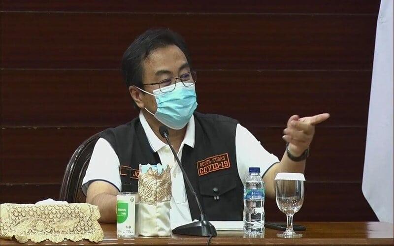 Ketua Rumpun Kuratif Gugus Tugas Covid-19 Jatim, dr. Joni Wahyuhadi. - Ist
