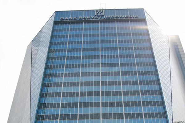 Gedung Bank Rakyat Indonesia. - Ilustrasi