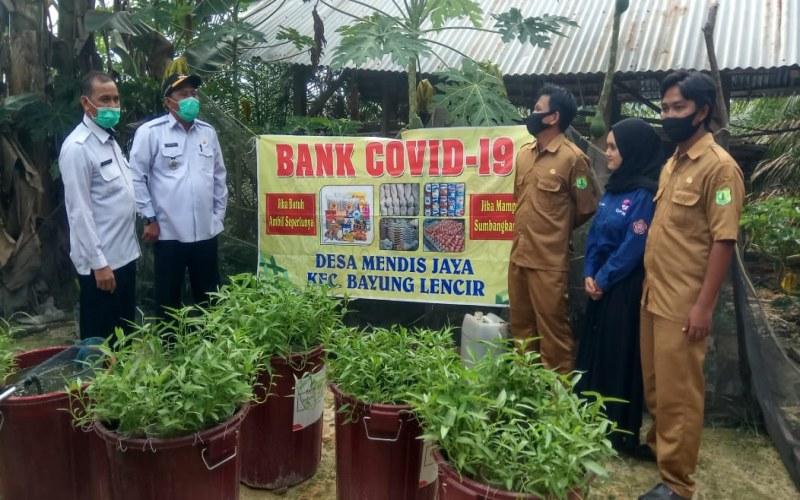 Bank Covid-19 didirikan secara swadaya untuk membantu warga - Istimewa