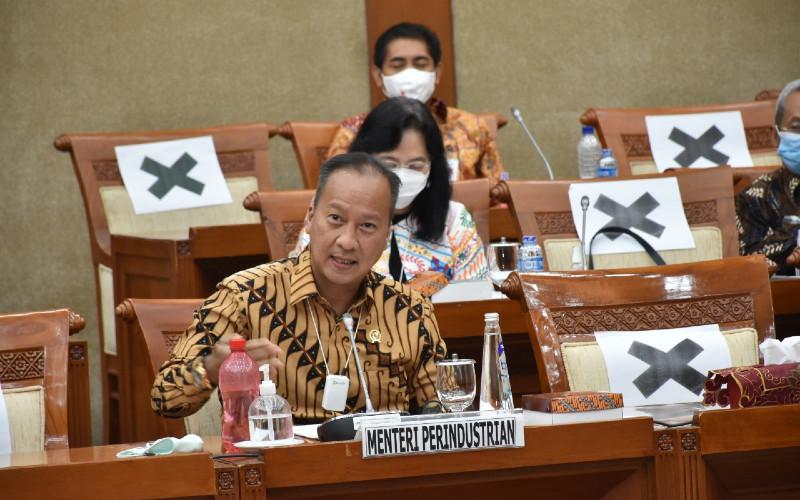 Menteri Perindustrian (Menperin) Agus Gumiwang. Anggaran tambahan tersebut dialokasikan bagi tiga program.  - KEMENPERIN