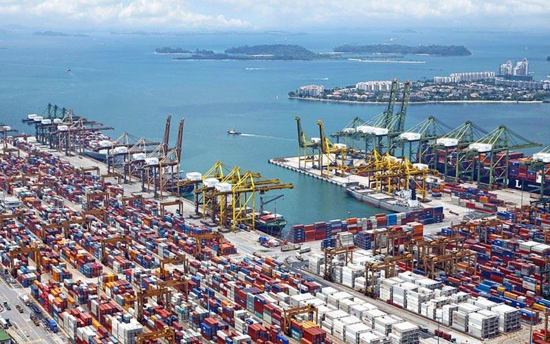 Ilustrasi: Pelabuhan Batu Ampar di Batam, Kepulauan Riau. - Pelindo I