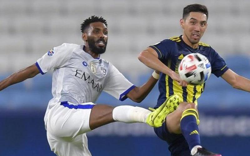 Pertandingan Al Hilal vs Pakhtakor. - BBC