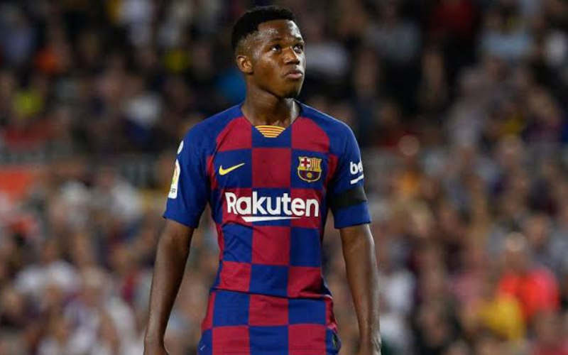 Striker Barcelona, Ansu Fati - Marca