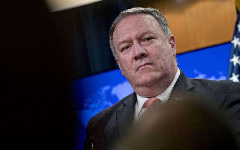 Menlu AS Mike Pompeo - Bloomberg/Andrew Harrer