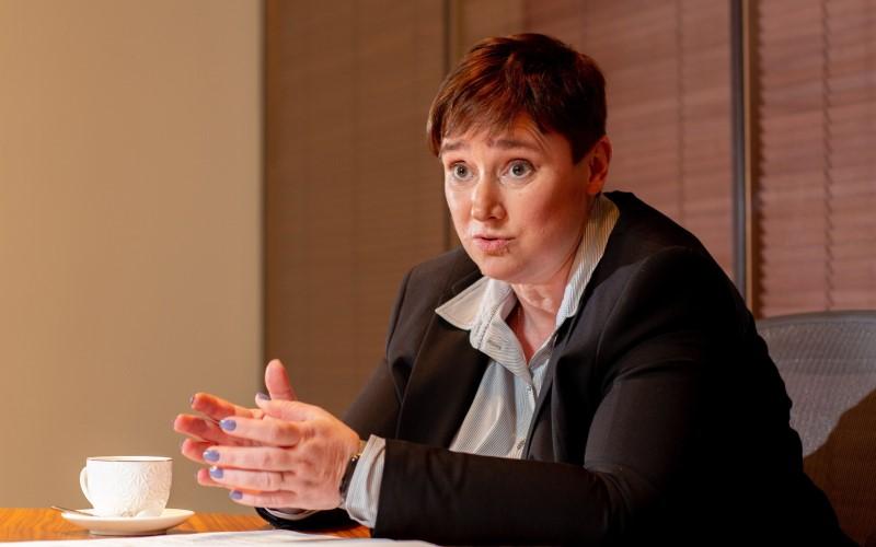 Wakil Menteri Ekonomi Rusia Polina Kruchkova - Bloomberg