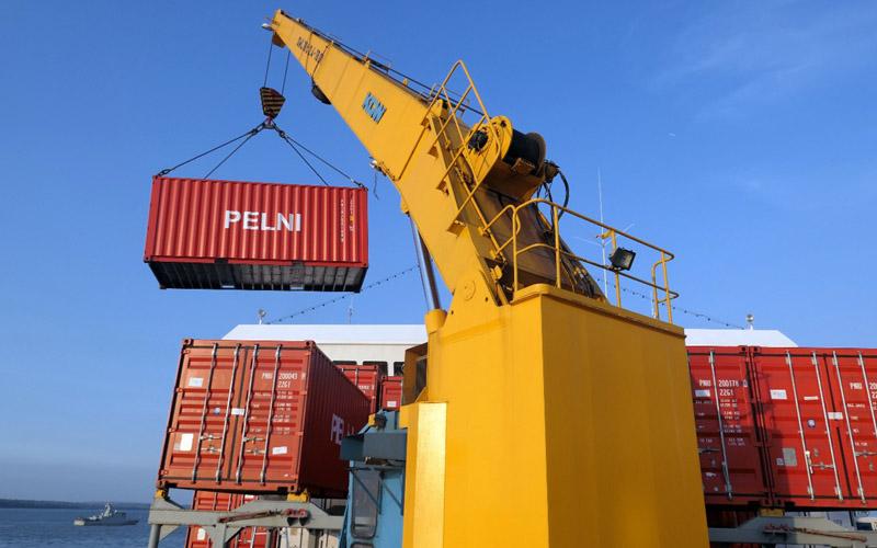 Ilustrasi aktivitas bisnis angkutan barang Pelni.  - Dok. Pelni