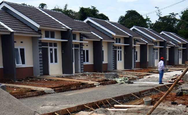 Ilustrasi pembangunan perumahan di Jonggo, Jawa Barat. - Bisnis.com