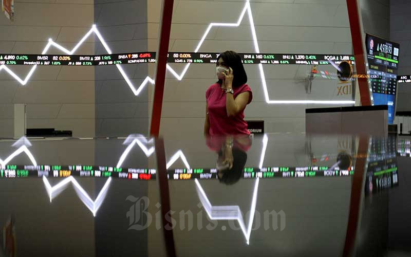 ACES EXCL IHSG ACES, EXCL, dan Saham Bank Topang Indeks Bisnis-27 - Market Bisnis.com