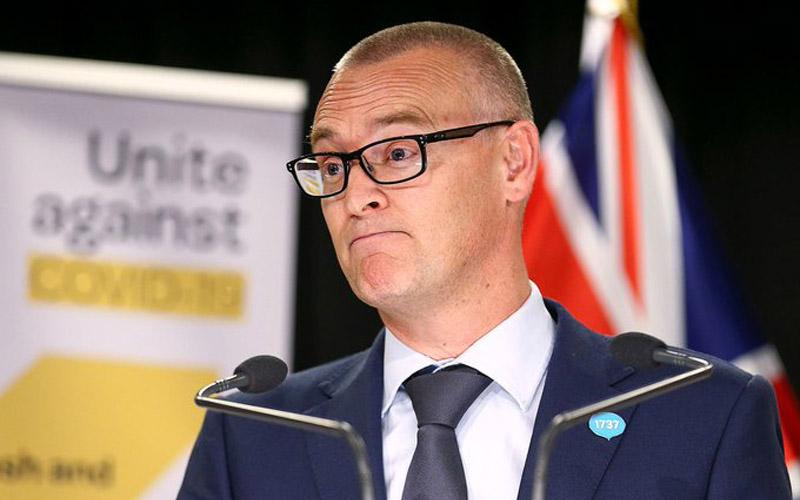 Menteri Kesehatan Selandia Baru David Clark.Foto: Bloomberg