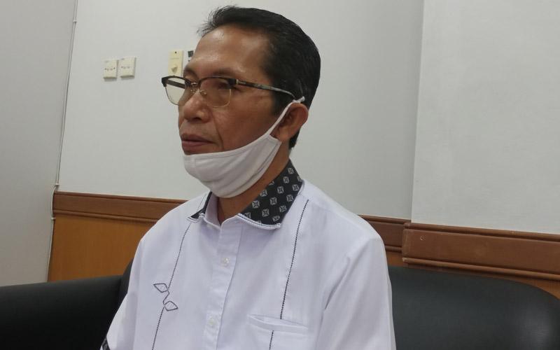 Ketua Harian Tim Gugus Tugas Percepatan Penanganan Covid-19 Kota Batam Amsakar Achmad. - Bisnis/Bobi Bani