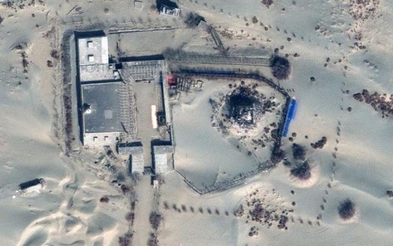Lokasi Masjid yang dikabarkan dihancurkan