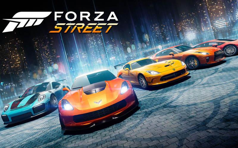 Ilustrasi gim Forza Street yang kini tersedia di IoS dan Android. - theverge.com