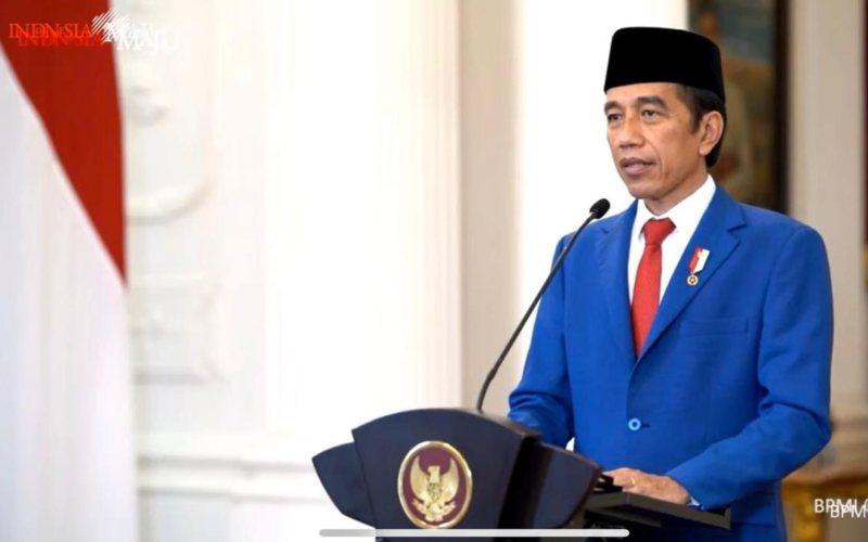 Presiden Joko Widodo tampil perdana menyampaikan pernyataan dalam Sidang Umum PBB ke-75 yang dilakukan secara virtual dan tatap muka, Rabu (23/9 - 2020) / Youtube Sekretariat Presiden