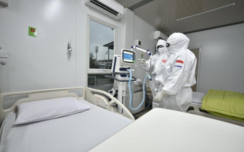 Penampakan hotel Patra Jasa Jakarta serta menjadikan Rumah Sakit Pertamina Jakarta (RSPJ) sebagai Rumah sakit khusus rujukan pasien Covid-19. - Istimewa / Pertamina
