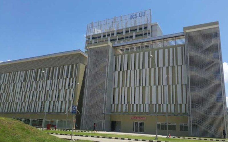 Rumah Sakit Universitas Indonesia (RSUI) (ANTARA - Feru Lantara)