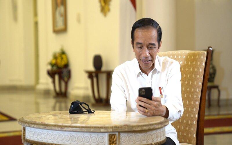 Presiden Joko Widodo  -  Istimewa