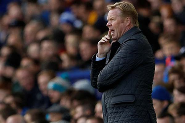 Ronald Koeman - Reuters/Lee Smith