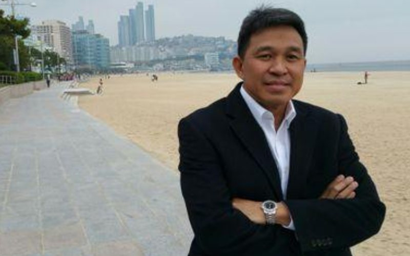 Foto Direktur Jenderal Pengelolaan Ruang Laut Kementerian Kelautan dan Perikanan (KKP) Aryo Hanggono - Twitter