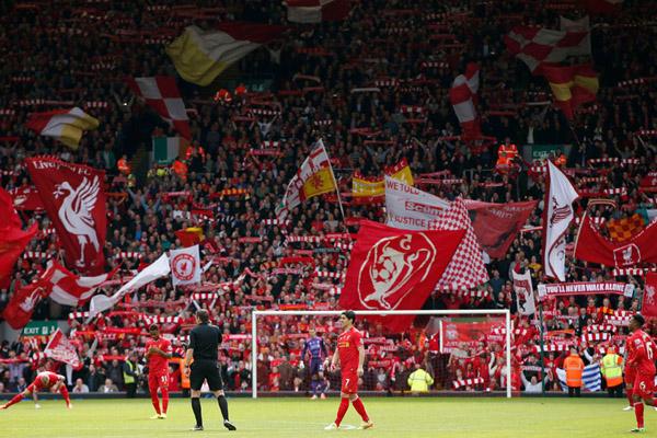 Suporter Liverpool - Reuters