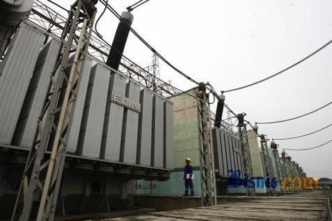 Ilustrasi jaringan listrik