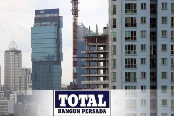 TOTL Per September, Total Bangun Persada (TOTL) Raup Kontrak Baru Rp497 Miliar - Market Bisnis.com