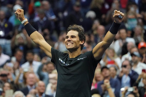 Rafael Nadal, juara bertahan single putra tenis Prancis Terbuka. - Reuters