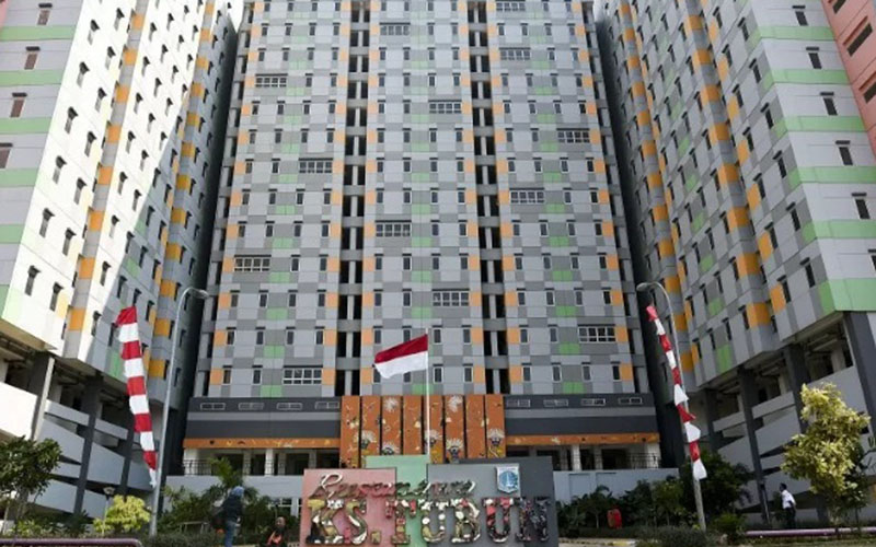 Rusunawa di Tanah Abang, Jakarta./Antara - Galih Pradipta