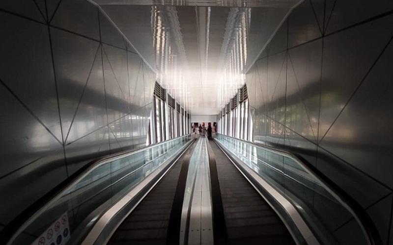 Skybridge Stasiun Bandung - Bisnis/Dea Andriyawan