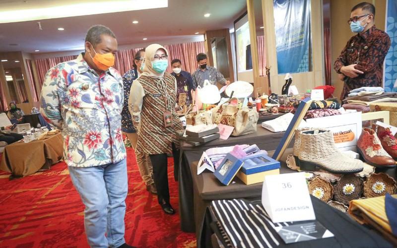 Program mentoring Go Export yang diusung Disdagin Kota Bandung - Bisnis/Dea Andriyawan