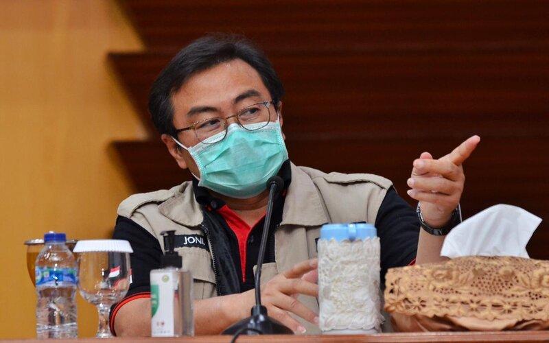 Ketua Rumpun Kuratif Gugus Tugas Covid/19 Jawa Timur, dr Joni Wahyuhadi.