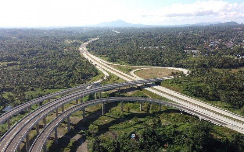 Tol Manado-Bitung di ruas Manado-Danowudu segera dioperasikan. (Foto: PT Jasamarga Manado-Bitung) - Antara