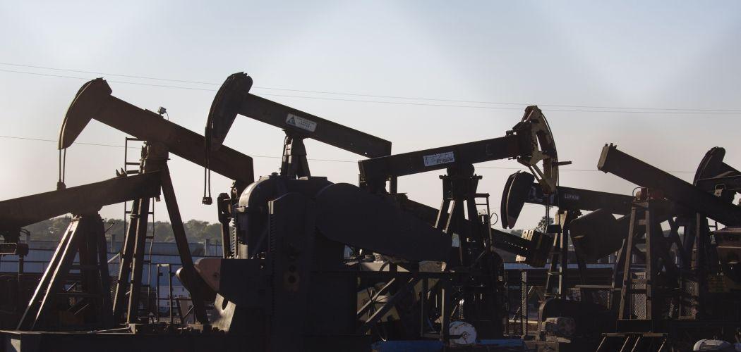 Kilang minyak di Guymon, Oklahoma, Amerika Serikat.  - Angus Mordant/Bloomberg