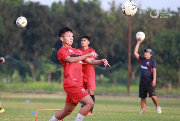 Gelandang Madura United, Syahrian Abimanyu - Liga Indonesia