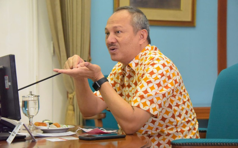 Ketua Satgas Pemulihan Ekonomi Jawa Barat Setiawan Wangsaatmaja