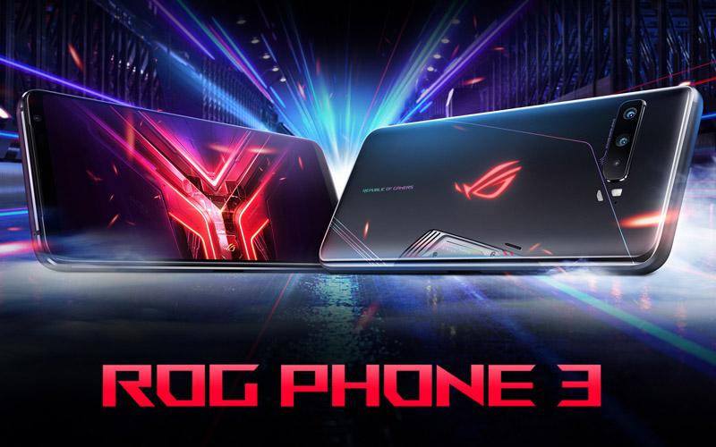 Tampilan Asus ROG Phone 3 yang diklaim sebagai ponsel gaming terkuat.  - Dok. asus.com