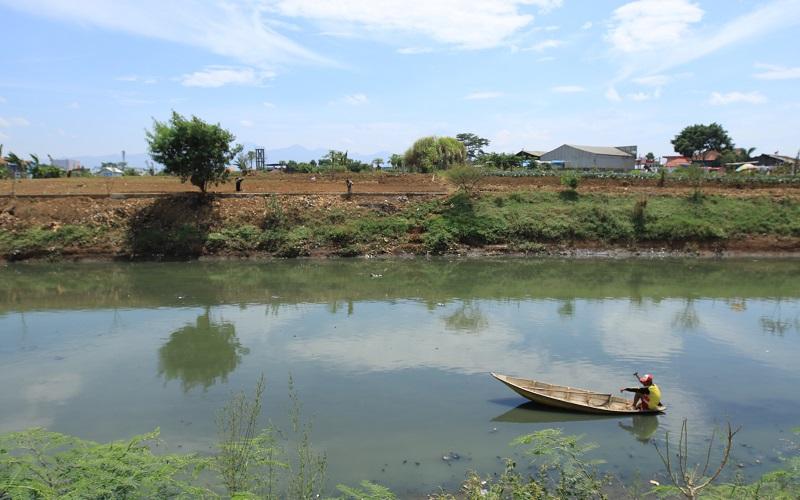 Sungai Citarum - Bisnis/Wisnu Wage