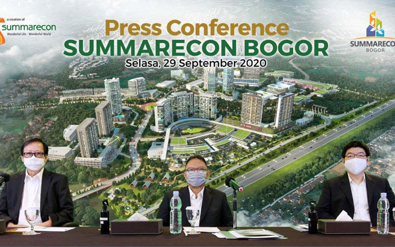 Summarecon Kembangkan Kota Mandiri Baru di Bogor