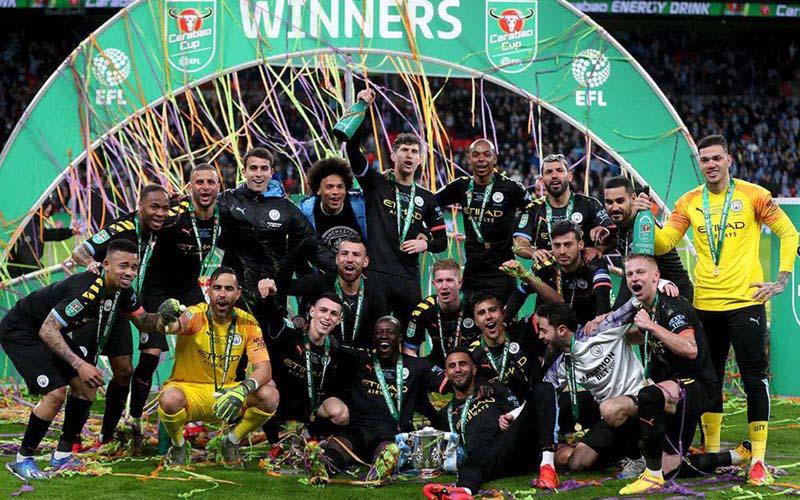 Manchester City juara Piala Liga 2019-2020  -  Bein Sports