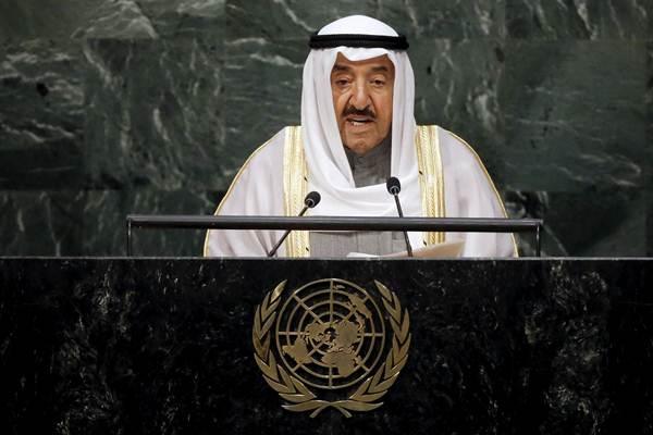 Emir Kuwait Sheikh Sabah al Ahmad Al Sabah - Reuters