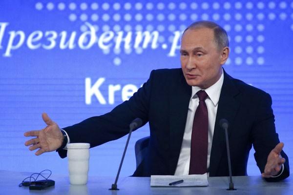 Presiden Rusia Vladimir Putin - Reuters