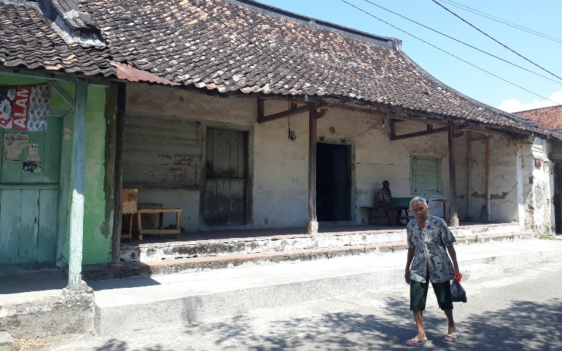 Kawasan Kota Tua Jamblang di Kecamatan Jamblang, Kabupaten Cirebon, Jawa Barat. - Bisnis/Hakim Baihaqi